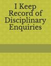 Disciplinary Enquiry
